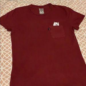 RipnDip Maroon T-shirt